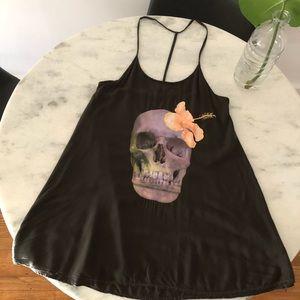 Wildfox skull 💀 swim dress 🖤